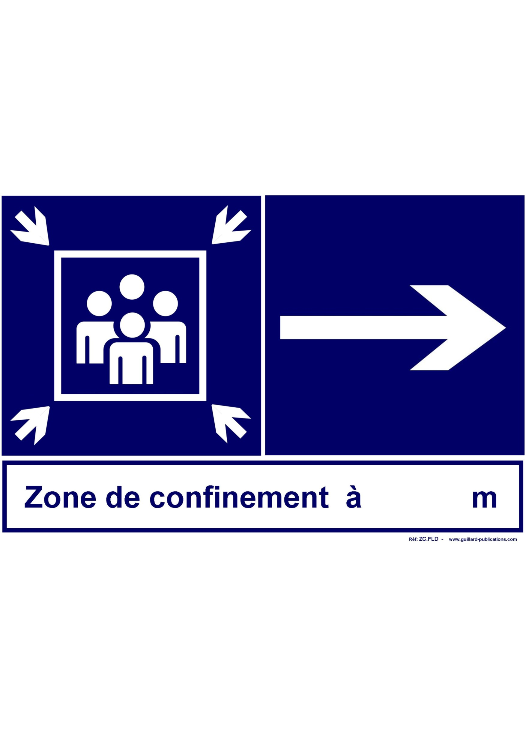 LYCEES ET COLLEGES - ZONE DE CONFINEMENT vers la doite - ZC.FLD