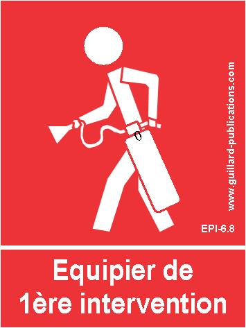 Signal  EQUIPIER DE PREMIERE INTERVENTION INCENDIE- EPI